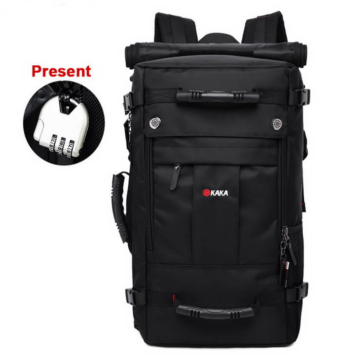 Kaka Travel Large Capacity Polyester Waterproof Luggage Backpack 40l